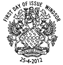 Windsor FDI postmark 25-4-12.