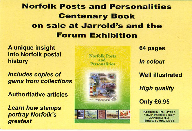 Norfolk Posts and Personalities ISBN 978-0-960425-3-8.