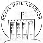 Postmark showing Norwich Castle.