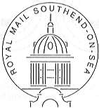 Postmark showing Southend Kursaal.