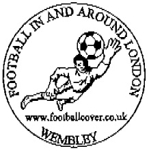 Postmark showing footballer.